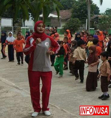 Sabtu Sehat Bugarkan Siswa SDN Cikampek Barat II Kecamatan Cikampek