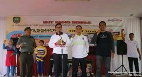 Wabup Subang Resmi Buka Kegiatan Gebyar Senam Sehat Hari Jadi Radio Benpas Ke-53
