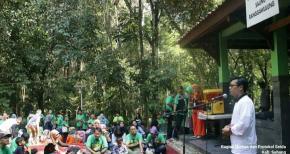 Jaga Kelestarian Lingkungan Hutan Kota Ranggawulung Dengan Menanam Pohon