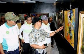 Pameran Kolaborasi Seni Rupa Komunitas Seniman Subang Dan Komunitas Seniman Bandung Barat