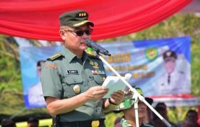 Penutupan TMMD Ke-105 Digelar Di Lapangan BLU PBB Desa Pusakajaya Kecamatan Cilebar