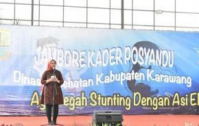 Dinkes Kabupaten Karawang Gelar Jambore Kader Posyandu