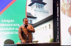 Masuk Nominasi, Sekda Paparkan Upaya Pemkab Mendukung Peningkatan PKB 2019