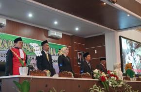 Harapan Bupati Anne Di Pelantikan Anggota DPRD Kabupaten Purwakarta Periode 2019-2024